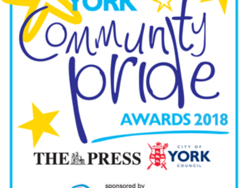 Backing Sheila's Gals every step of the way at York Community Pride Awards 2018